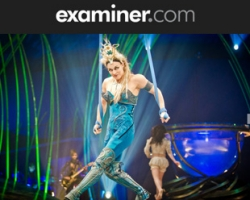 examiner.com Amaluna is at Sun Life Stadium
