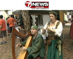 WSVN FOX Channel 7: 22nd Florida Renaissance Festival kicks off