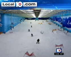 WPLG ABC 10: Company wants to bring indoor skiing to Sawgrass Mills Mall