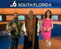 "WTVJ NBC ""6 in the Mix"": Renaissance Fest Takes Over Miami"