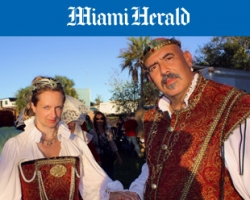 The Miami Herald: Kings, queens stroll through festival grounds at Renaissance Festival