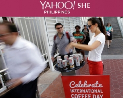 Ph She Yahoo.com Illy Issimo coffees commuters