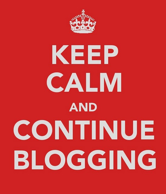 keep-calm blogging